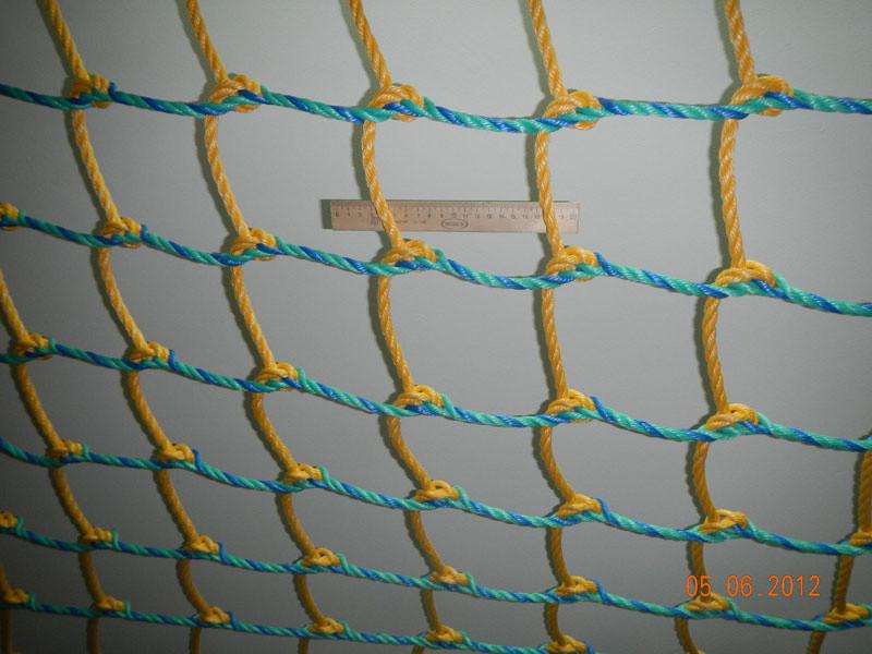 Как самому сделать сетку из веревки